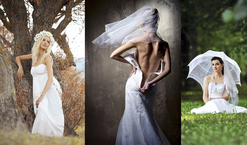 Hochzeitsfotograf für inszenierte Hochzeitsfotografie und ausgefallene Hochzeitsfotos - Trash the Dress und After Wedding Shooting in Berlin und Brandenburg für Ihr Hochzeit-Fotoshooting
